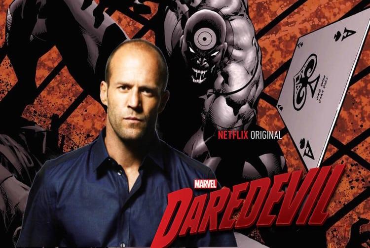 Jason Statham Bullseye Daredevil