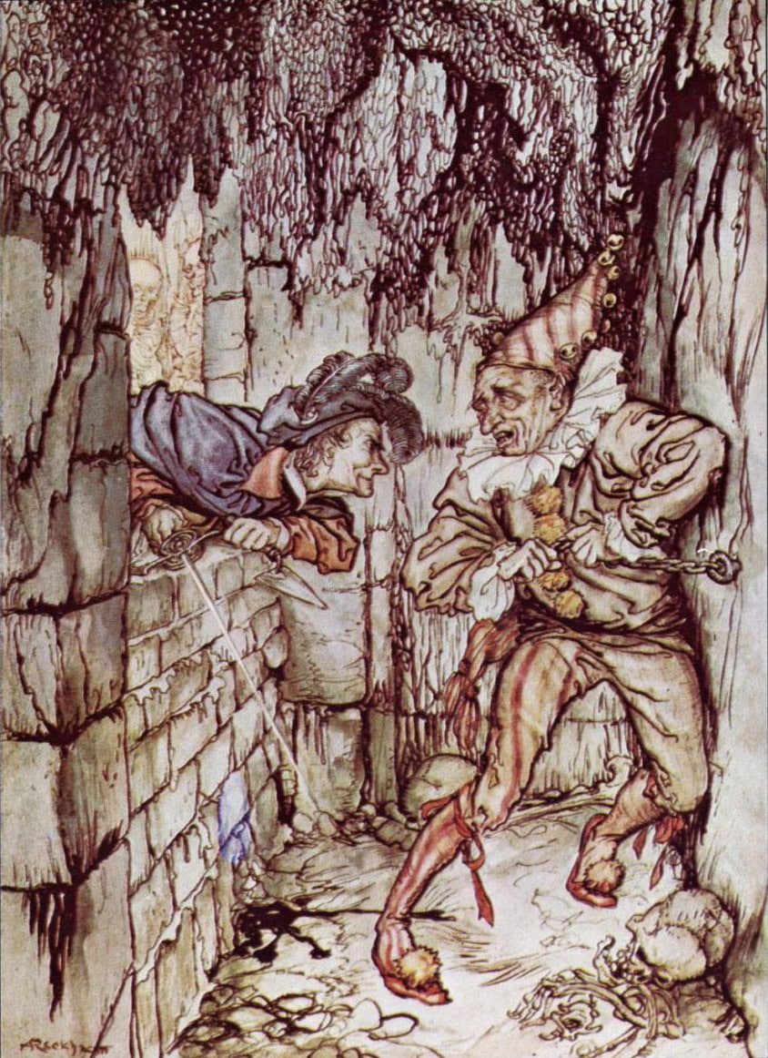 edgar allan poes the cask of the Published: mon, 15 may 2017 the story of the cask of amontillado by edgar allan poe is full of conflict from beginning to end the narrator of this story does not reveal why such a conflict exists other than to say someone has impugned his honor.