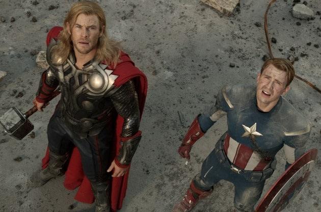 Thor Captain America