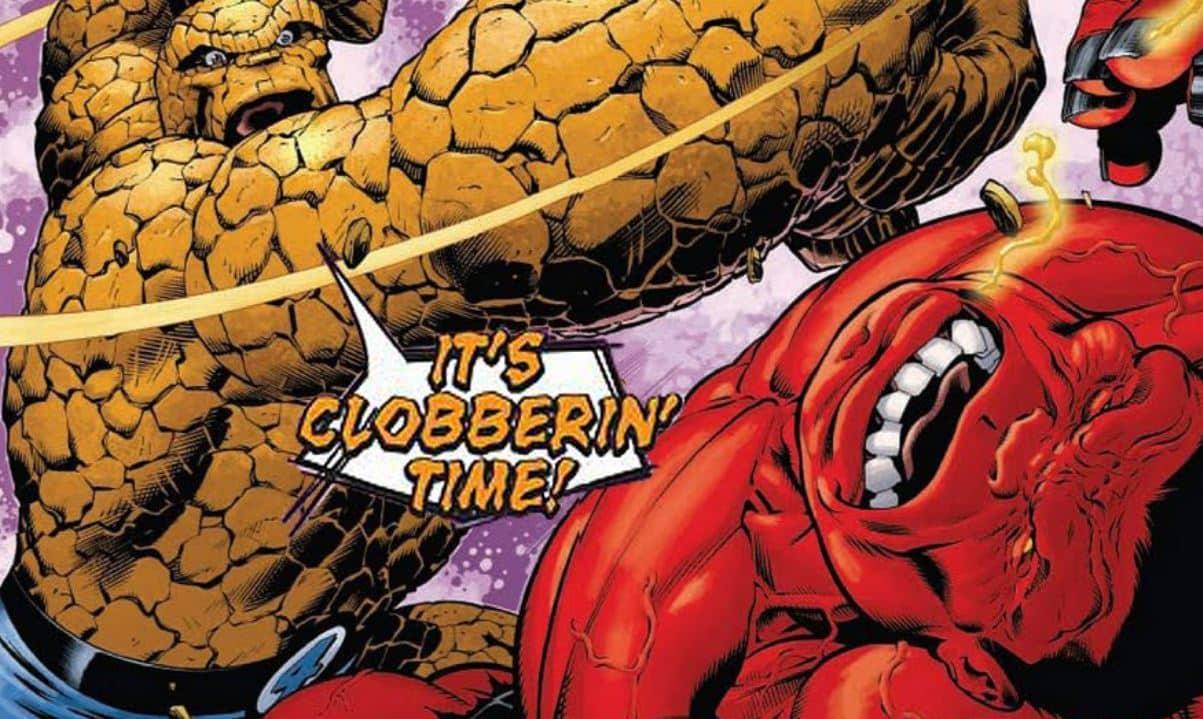 the thing red hulk