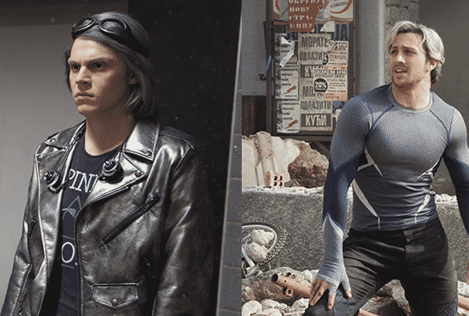 evan peters reaction to age of ultrons quicksilver