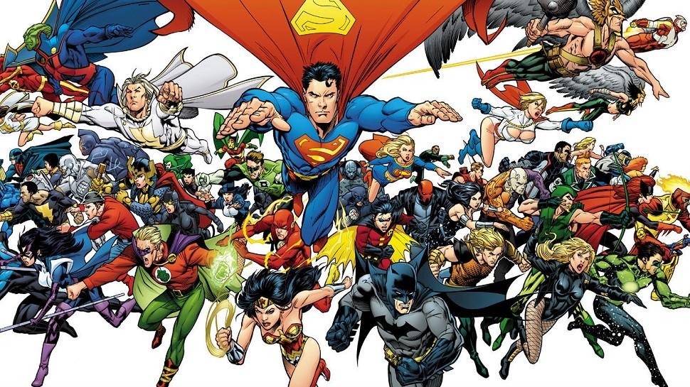 DC Comics Reveal A Brand New Logo - ScreenGeek