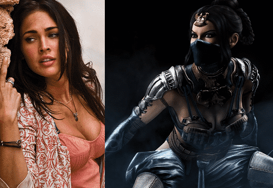 megan fox mortal kombat kitana