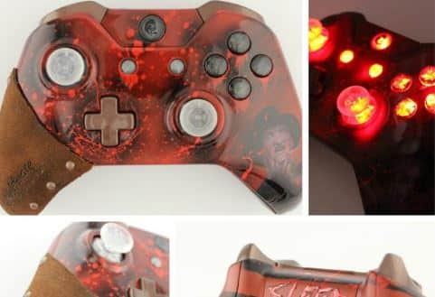 Freddy Krueger Gets His Own XBOX One and PS4 Controller Major League Movie Fans