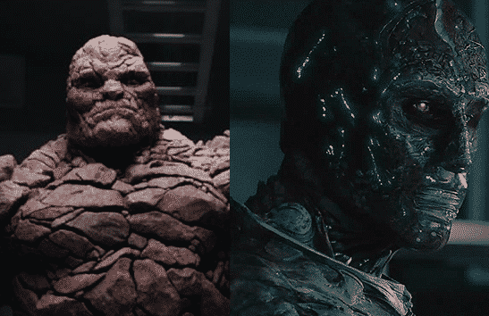 Fantastic Four The Thing Doctor Doom 2015