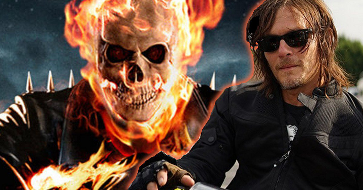 norman reedus wants to play ghost rider. Black Bedroom Furniture Sets. Home Design Ideas