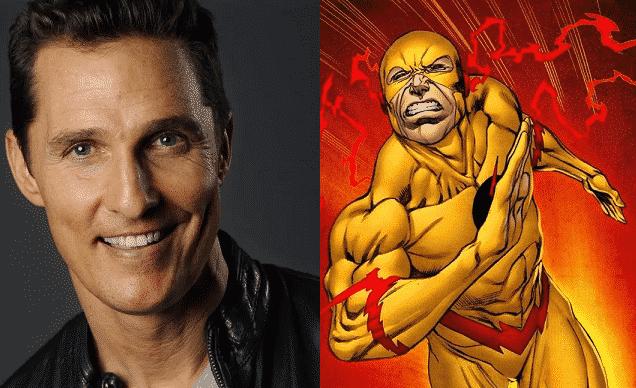 Matthew McConaughey Reverse Flash