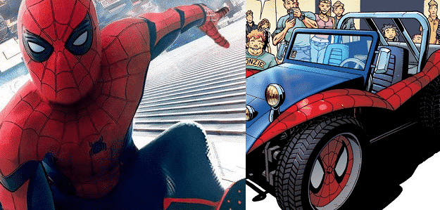 Spider Man Homecoming Set Video Features Spider Mobile And Suggests New Villain