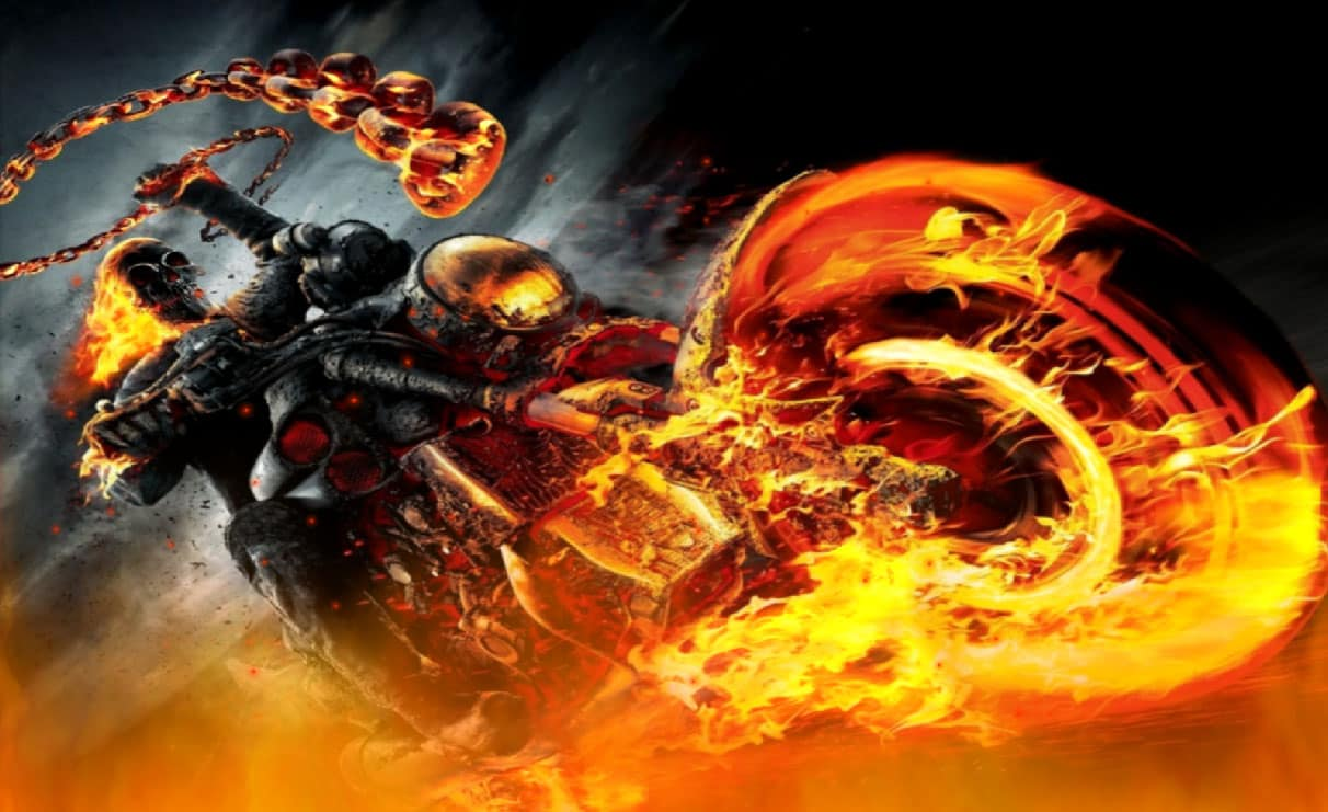 ghost rider 3d live wallpaper