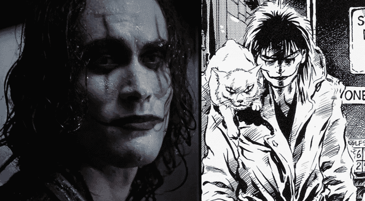 the crow brandon lee james o'barr