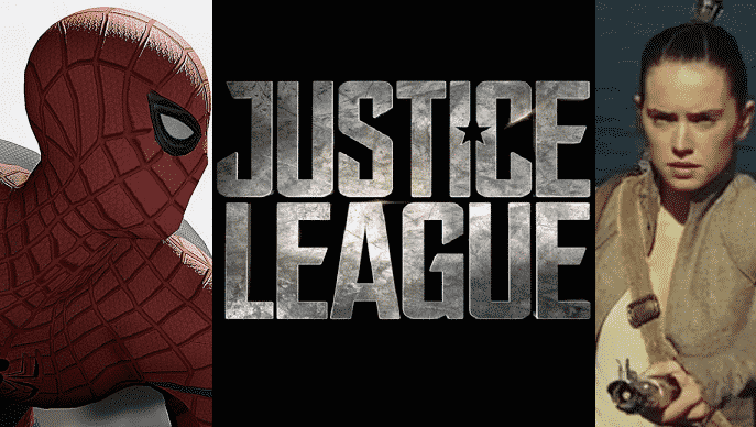 spidermanjusticeleaguestarwars