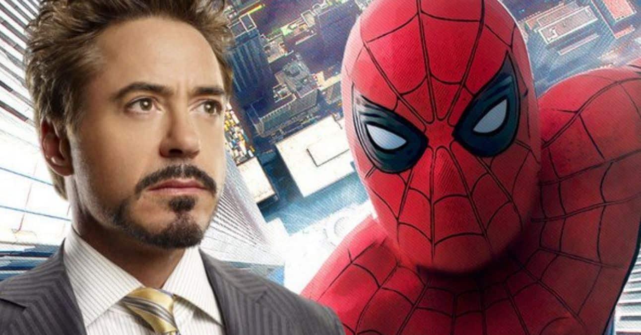 tony stark spider-man