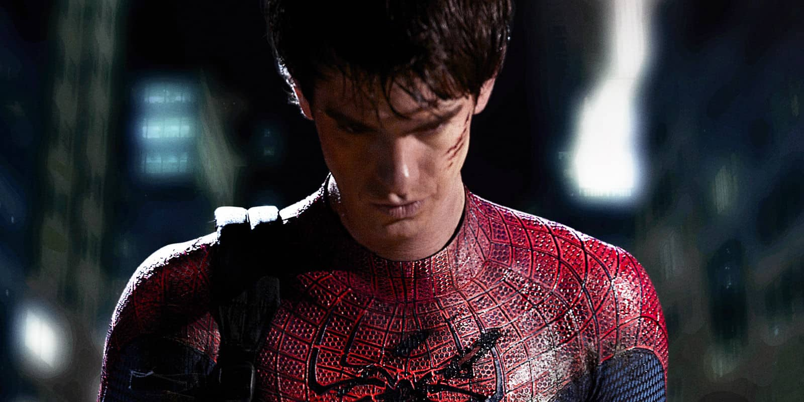 Video Andrew Garfield Suits Up As Spider Man One More