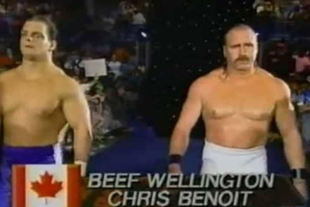 Chris Benoit Biff Wellington