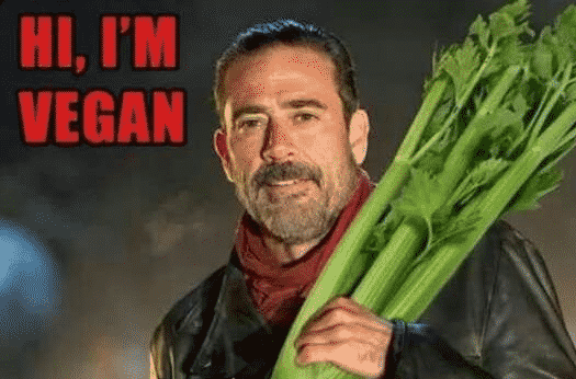 vegannegan the walking dead season 7 premiere the best memes screengeek