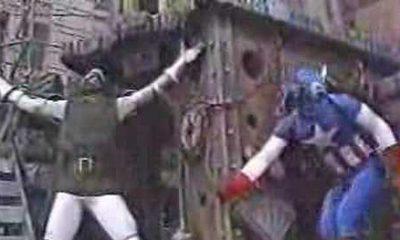Marvel Thanksgiving Parade Float 1987