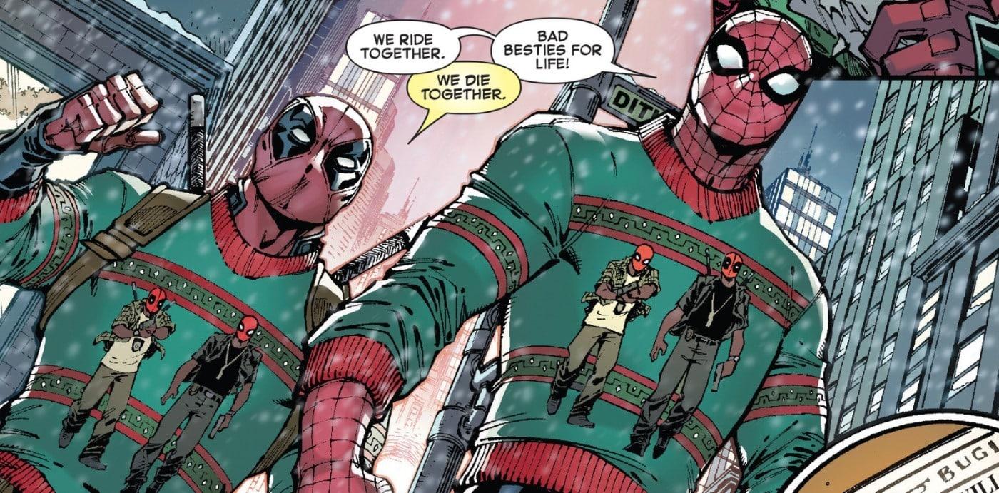 Marvel Spider-Man Deadpool Comic