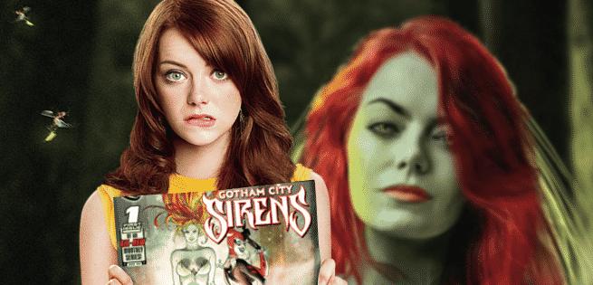 Emma Stone Poison Ivy