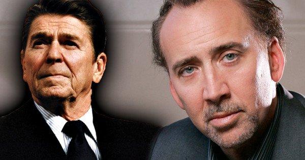 Ronald Reagan Nicolas Cage