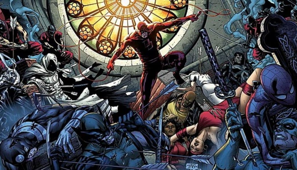 Shadowland Marvel Comics