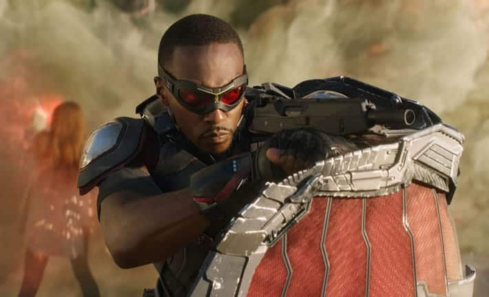Exclusive anthony mackie says falcon won 39 t die - Faucon avengers ...