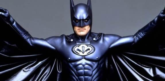 Image result for CLOONEY AS BATMAN