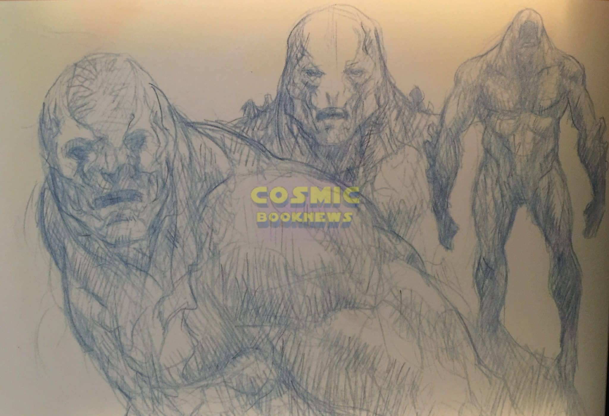 Alternate Doomsday Design For Batman V Superman Revealed