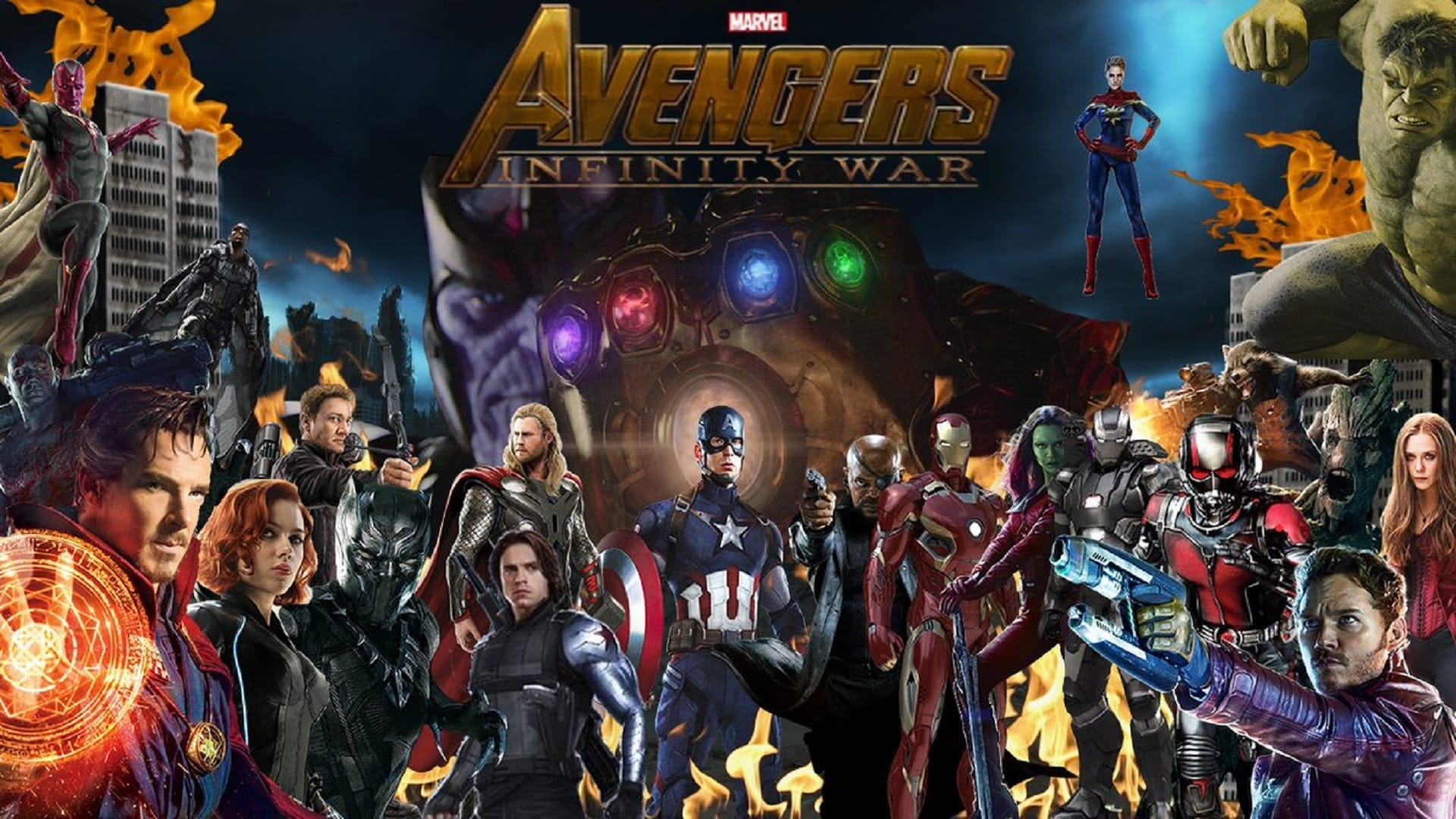Infinity War Avengers Rating