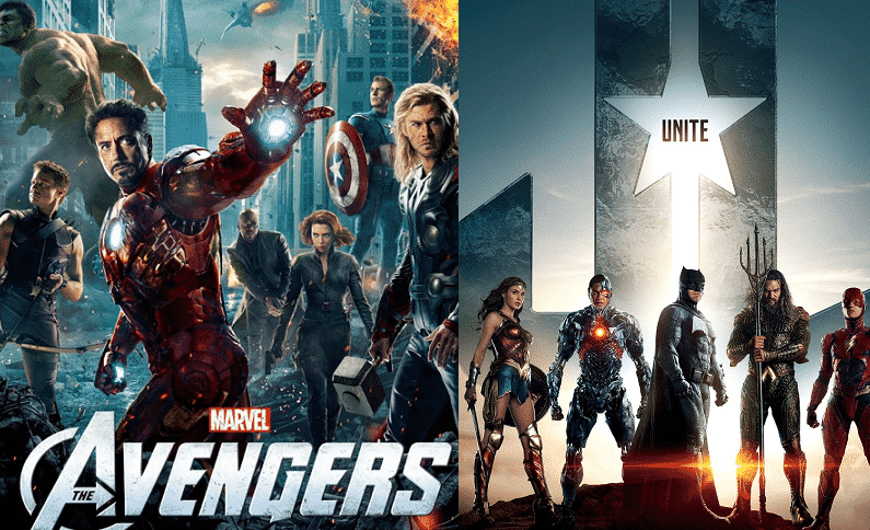 the avengers gets new justice league style trailer - Avengers Vs Justice League