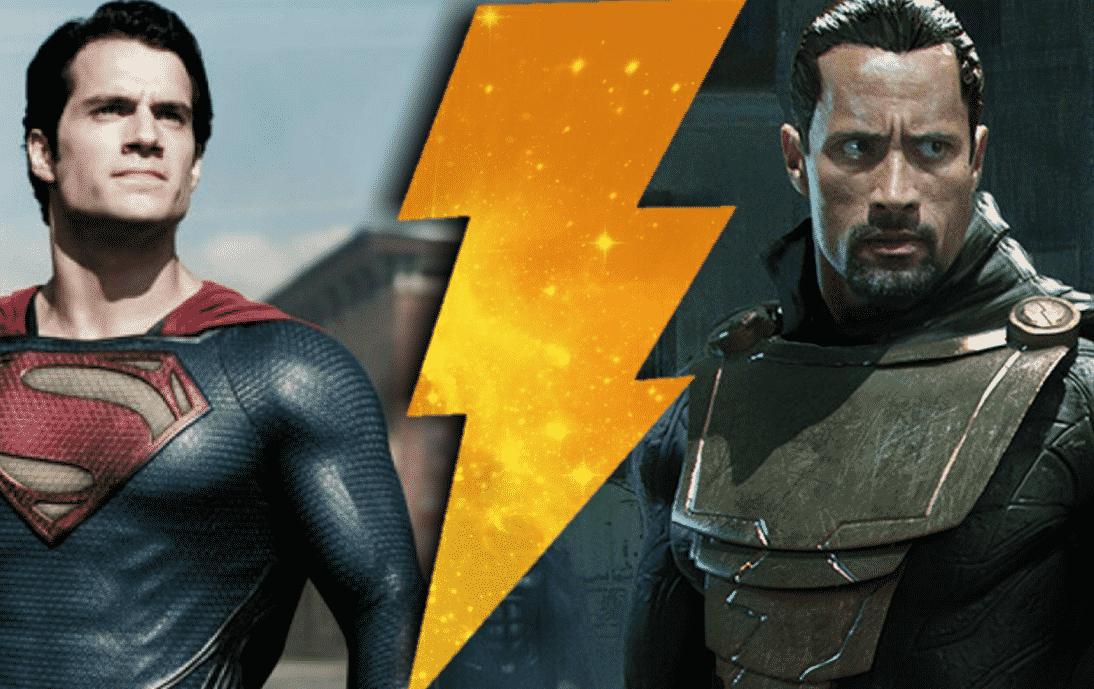 Rumor Black Adam Main Villain In Man Of Steel 2 Shazam Movie Cancelled