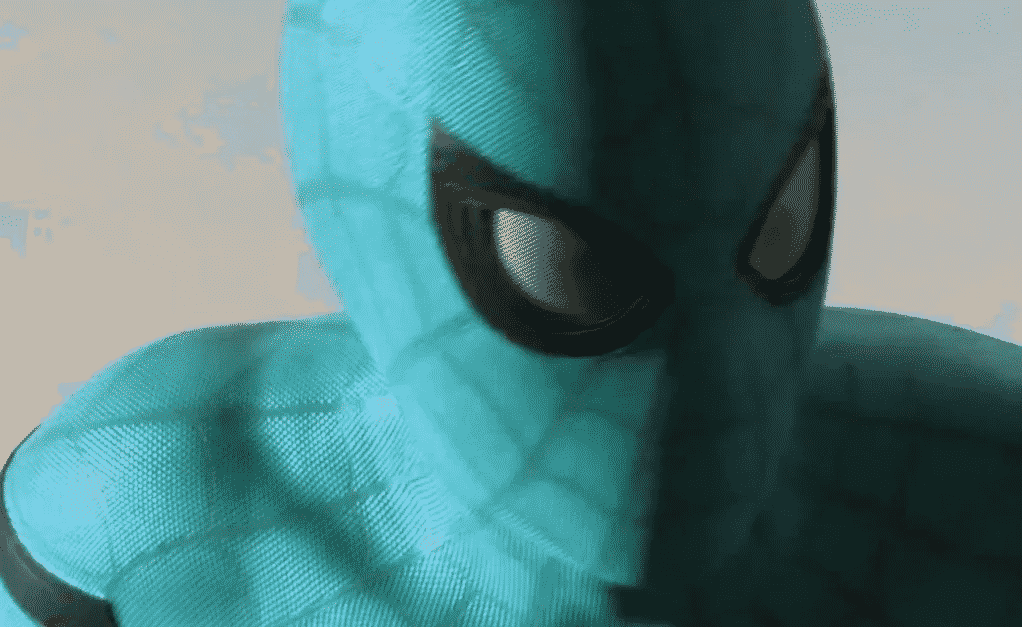 SPIDER MANs Blue Suit For HOMECOMING Revealed