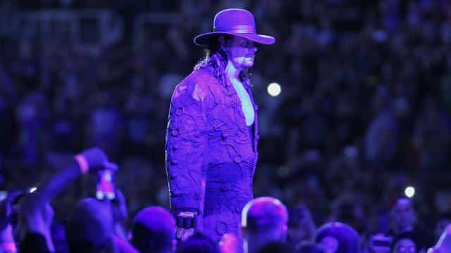 Undertaker Hat In Ring