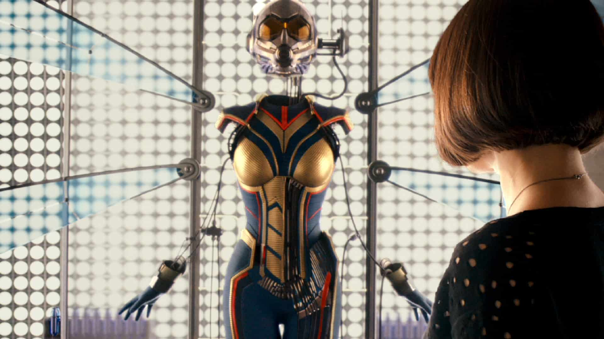 Evangeline Lilly Teases Ant-Man Sequel s Wasp Costume 2623918d11