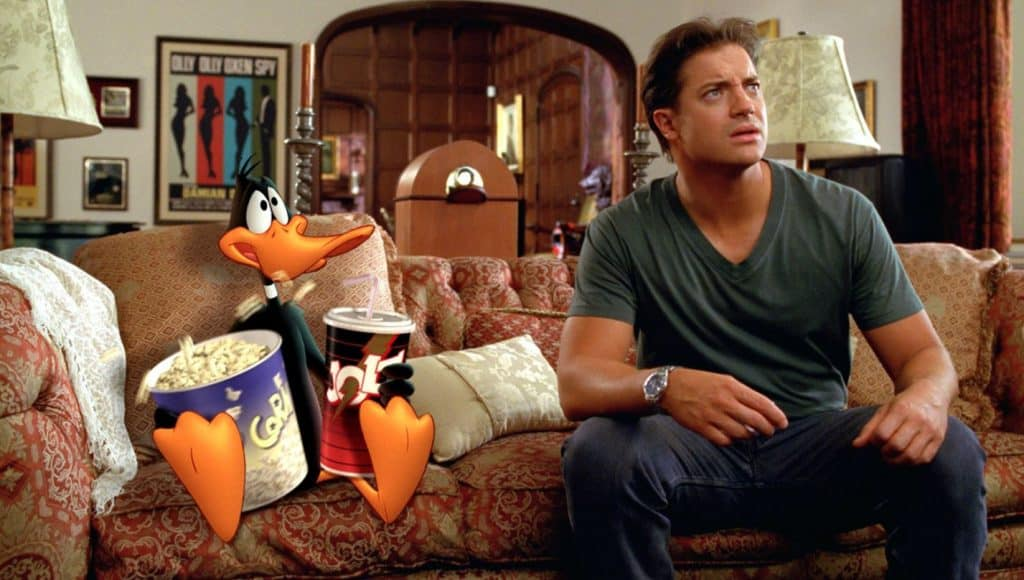 looney tunes back in action daffy duck brendan fraser