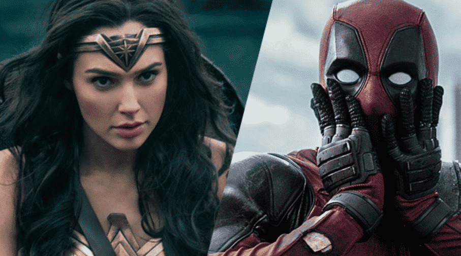 DEADPOOL Responds To Wonder Woman Beating His Film's Box ...