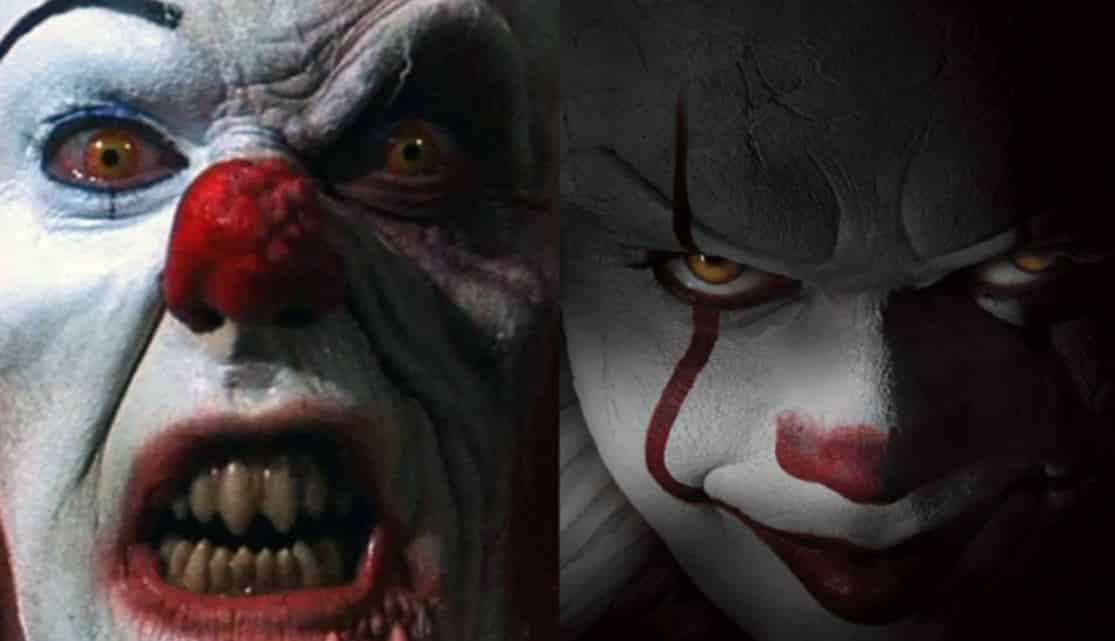pennywise clown tim curry bill skarsgård