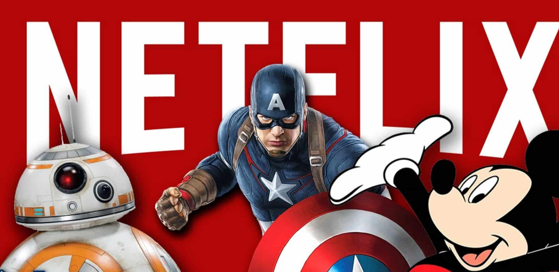 NETFLIX In Talks With Disney To Keep Star Wars and Marvel ...