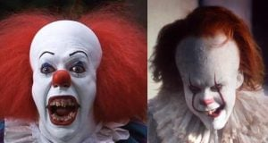 tim curry bill skarsgård pennywise it