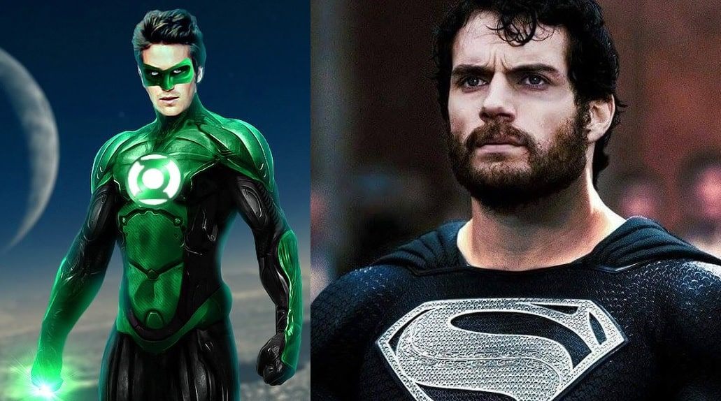 justice league green lantern superman