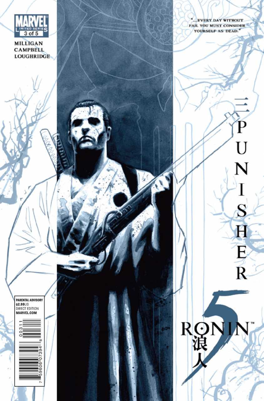 Marvel Comics 5 Ronin Punisher