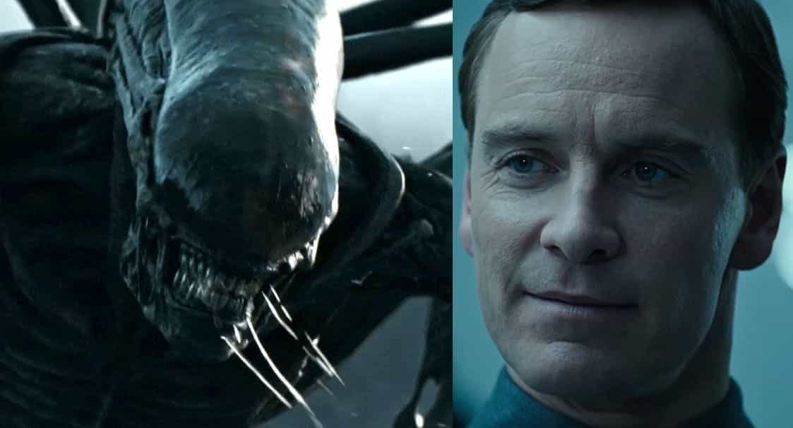 alien covenant xenomorph android