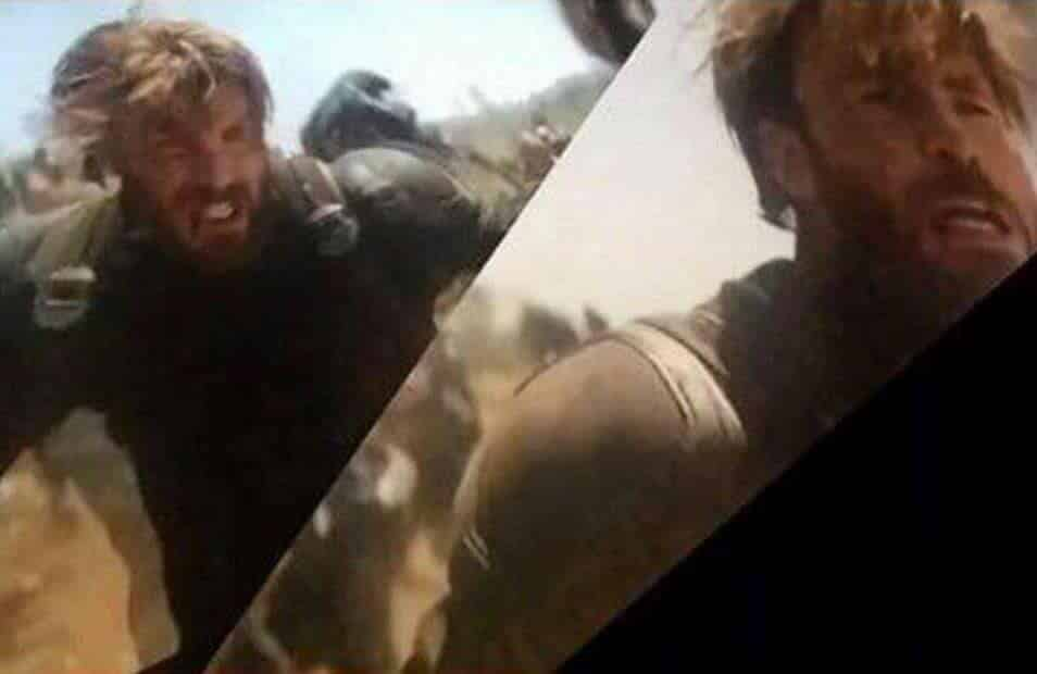 Infinity War Screenshots >> Leaked AVENGERS: INFINITY WAR Image Reveals New Look Captain America