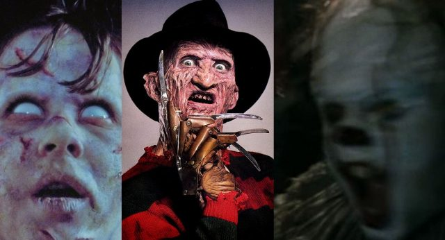 best horror movies exorcist freddy krueger pennywise