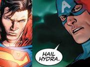 dc comics superman captain america hydra