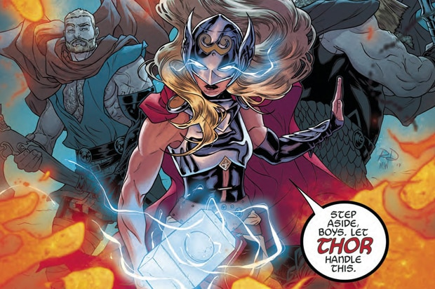 female thor marvel