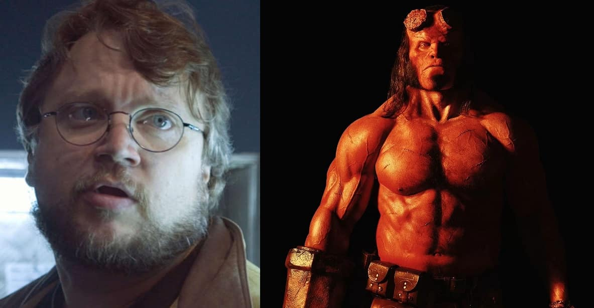 Guillermo del Toro David Harbour Hellboy