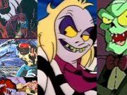 horror movie cartoons aliens beetlejuice cryptkeeper
