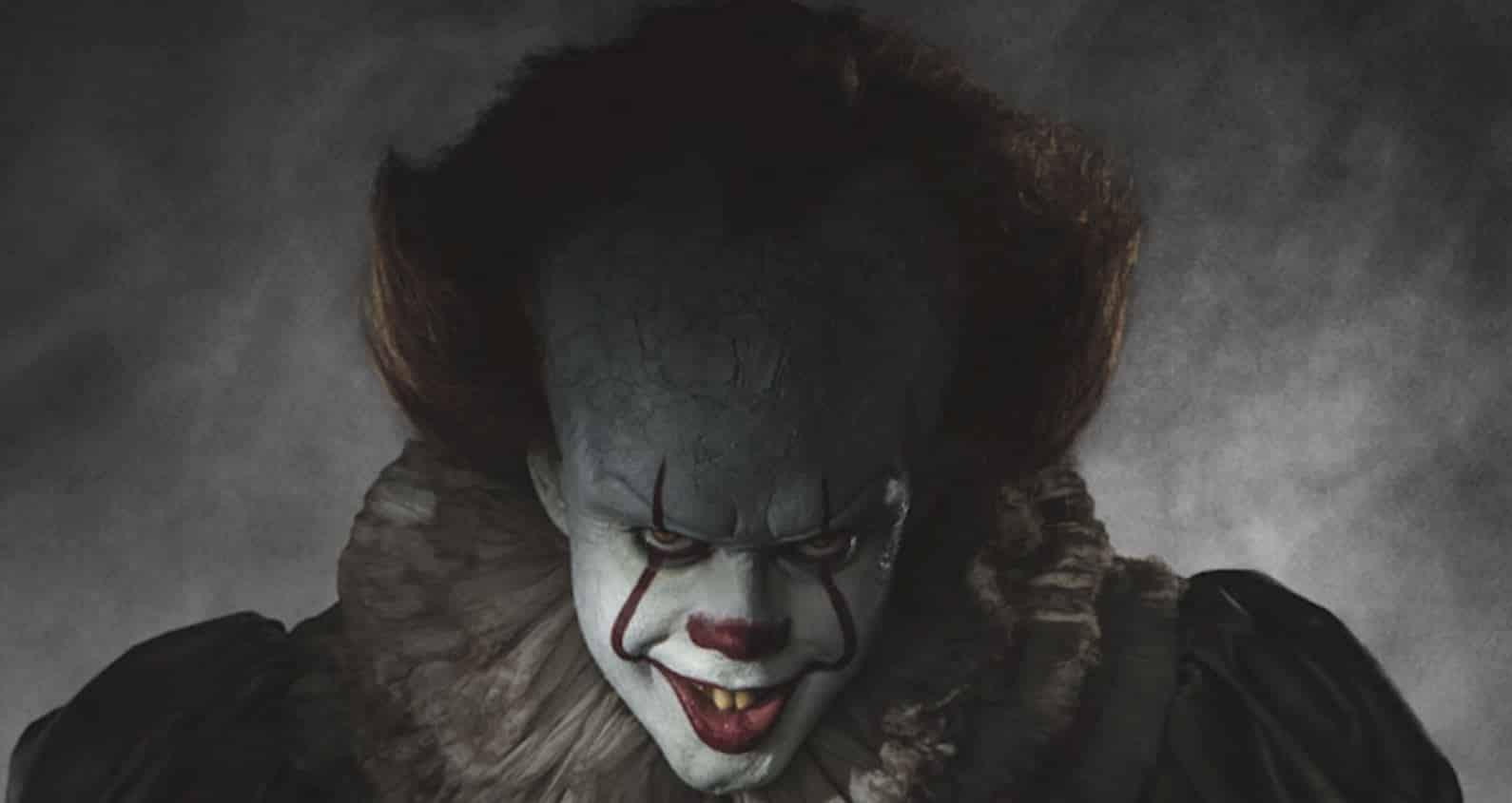 it movie bill skarsgård pennywise clown