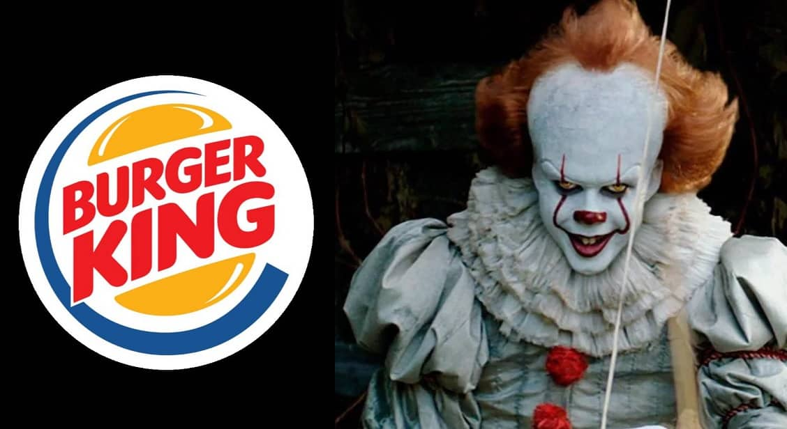 burger king pennywise it clown