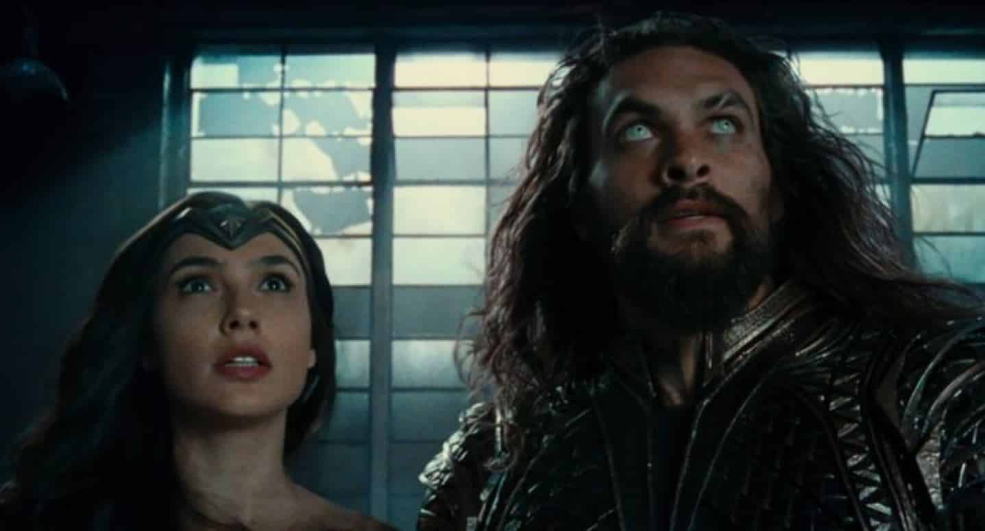 justice league trailer wonder woman aquaman
